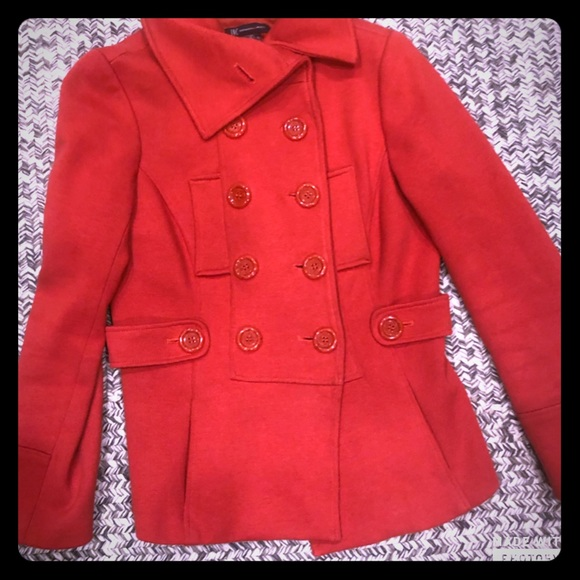 INC International Concepts Jackets & Blazers - INC medium women's coat Burnt orange